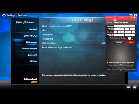 How to use your IPod - IPhone - IPad as your remote control for Kodi/XBMC