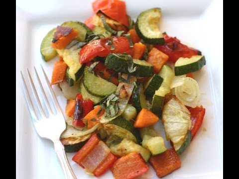 Tips On How To Roast Vegetables In The Oven And On The BBQ Grill - For Amazing Flavor