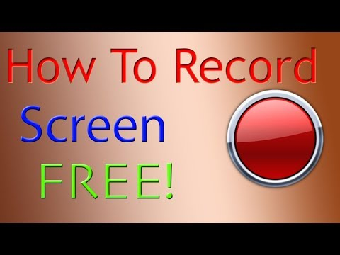 How To Record Computer Screen Windows 7 And Mac With Voice Free