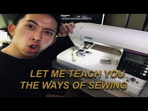 LET ME TEACH YOU HOW TO SEW!