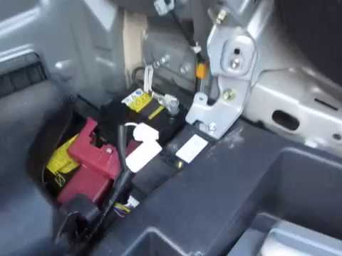 Gen2 Prius Opening the hatch without power