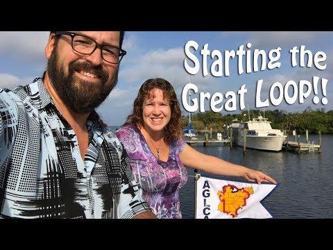 Starting the Great Loop - Punta Gorda to Fort Myers, FL | Great Loop Cruising, Ep 1