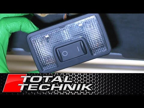 How to Remove Rear Boot Trunk Light (AVANT) - Audi A6 S6 RS6 - C5 - 1997-2005 - TOTAL TECHNIK