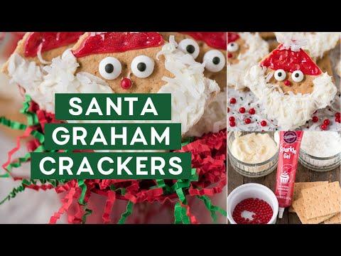 Santa Graham Crackers