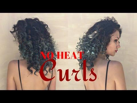 NO HEAT Super Tight curls using STRAWS | Stella