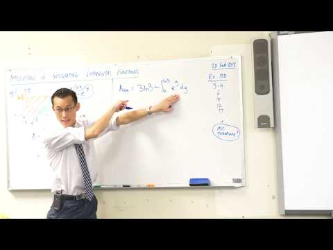Applications of Integrating Exponential Functions (2 of 2: Area beneath a logarithmic curve)