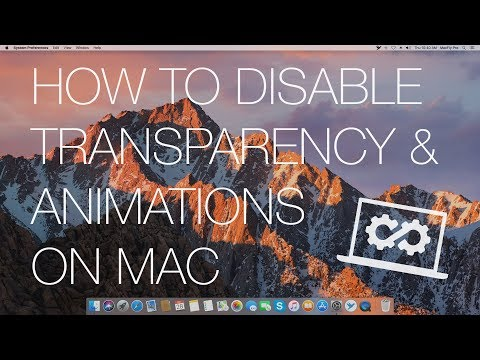 How to Disable Transparency and Animations Mac - MacFly Pro Guide