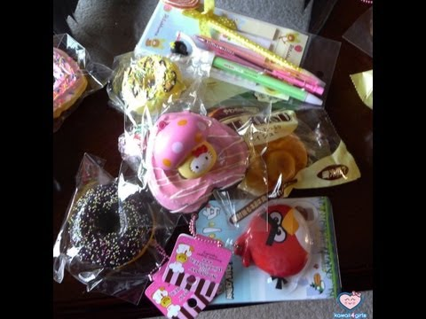 NEW $25 KAWAII SQUISHY GRAB BAG @ KAWAII4GIRLS!!!