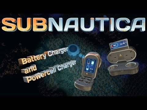 How to get the Battery/Powercell charger blueprints.