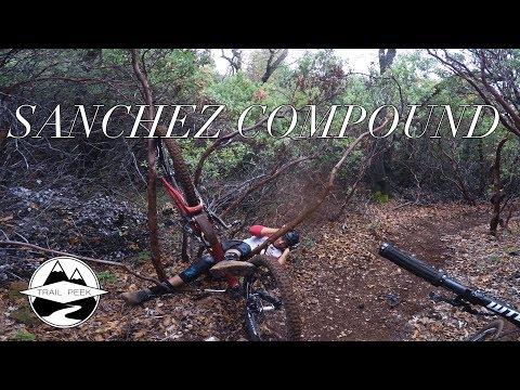 Finally a CRASH on Camera! - Sanchez Compound - Mountain Biking Grass Valley, California