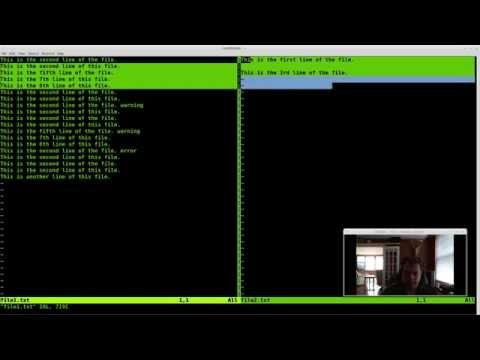crash course tutorial of vim vi text editor Part 1