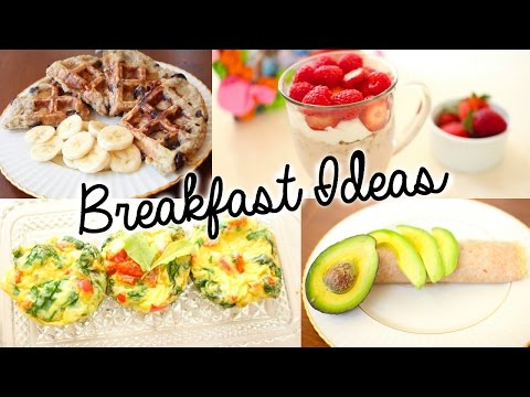 Healthy & Easy Breakfast Ideas for School!