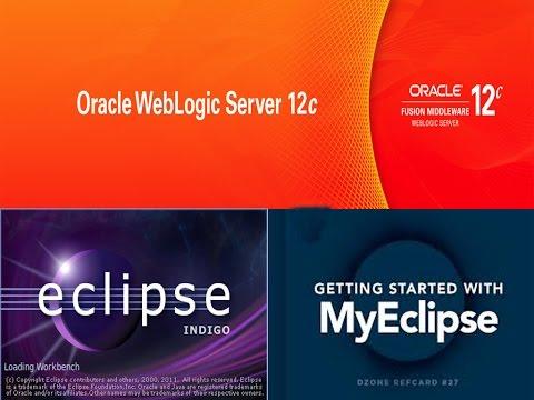 Oracle WebLogic Server Configuration in MyEclipse IDE