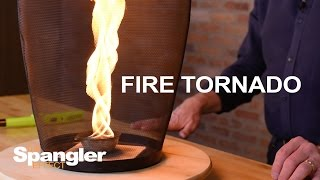 How to Make a Fire Tornado - Cool Science Demo