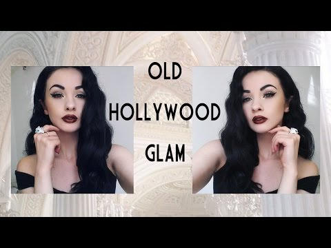 Old Hollywood Glam // Full Tutorial Hair and Makeup