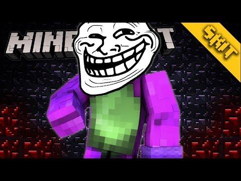 BARNEY TROLLEA A NIÑOS EN MINECRAFT! | Minecraft Skit | ElSirKael