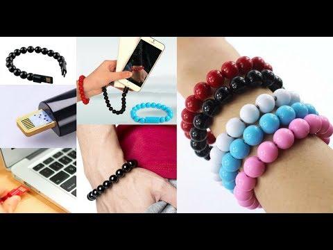 USB Charging Bead Bracelet!