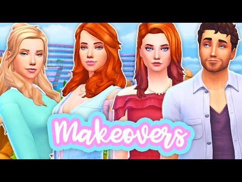ADALYN, RILEY, TINA & LEO'S MAKEOVER!😍🔥 // SINGLE MOM LIFE - TWISTED FATE | THE SIMS 4