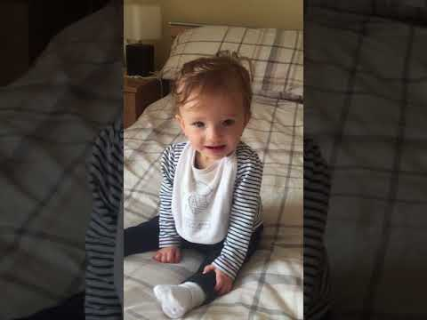 Happy, Cutest Baby Video - Excitement Builds - Laughing into a Mirror