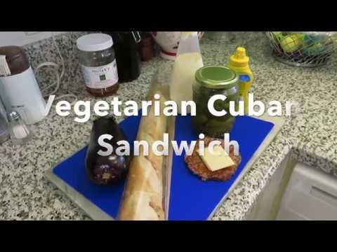 Vegetarian Cuban Sandwich