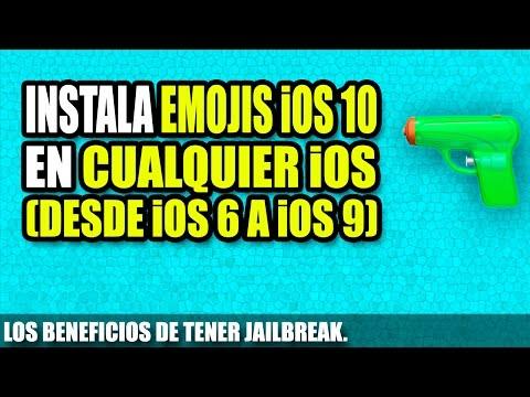 Instalar emojis de ios 10 en cualquier iOS | instalar emojis de iOS 10