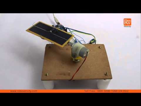 Automatic Solar Tracker Project by Roboversity