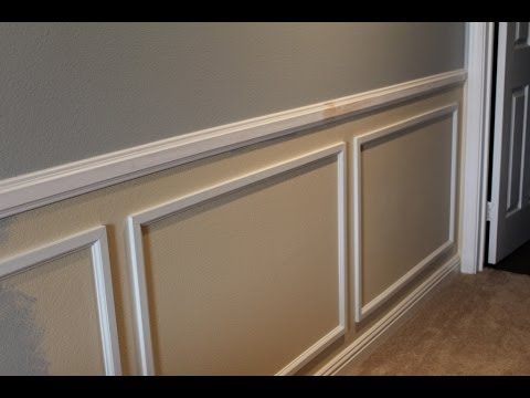 Wainscot Installation Tips