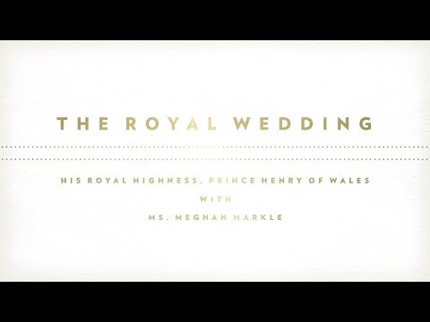 You're Invited | Watch The Royal Wedding LIVE | May 19 on BBC AMERICA