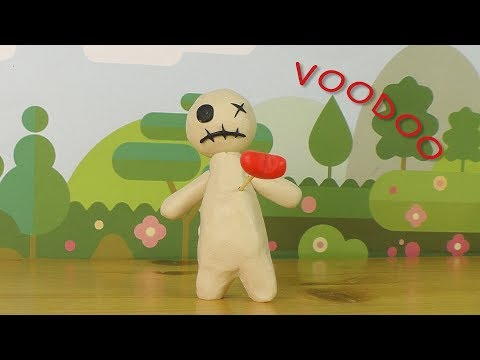 How to make  voodoo doll out of clay