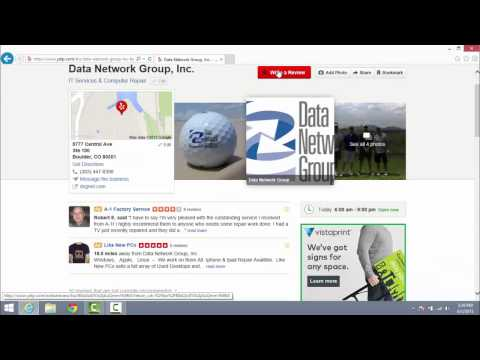 How to Follow and Review DNG on Yelp and Google+