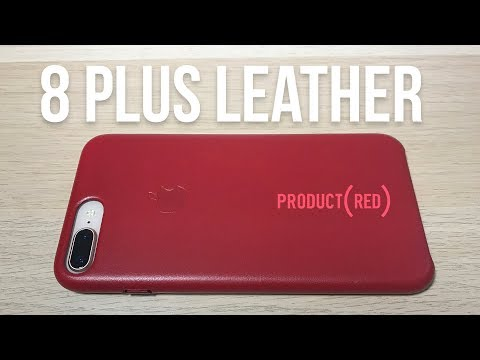 Apple's New Red Leather Case For iPhone 8