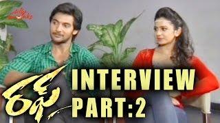 Rough Movie Special Interview P2 - Aadi, Rakul Preet Singh