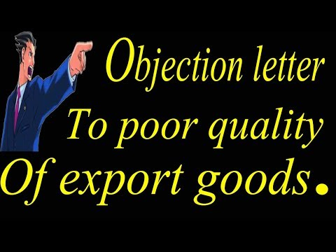 Xxx Mp4 Sample Objection Letter To Poor Quality Of Export Goods 3gp Sex