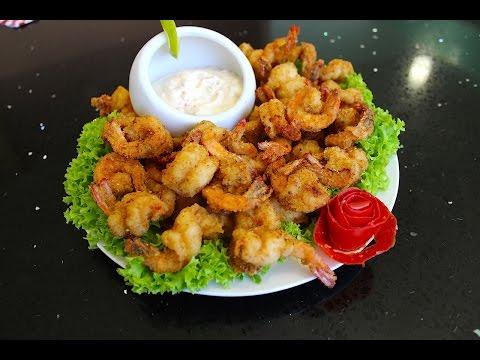 Mexican Fried shrimp super easy  - Camarones empanizados