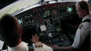 Montreal Dorval Departure Cockpit A330