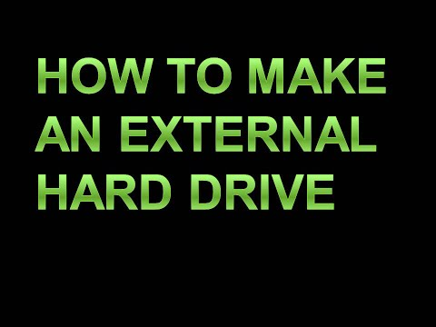How To Make an external hard drive from an Old Laptop drive(Sai Computer)