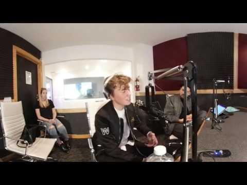 Jeffrey Miller sings live in studio! [360 VIRTUAL REALITY]