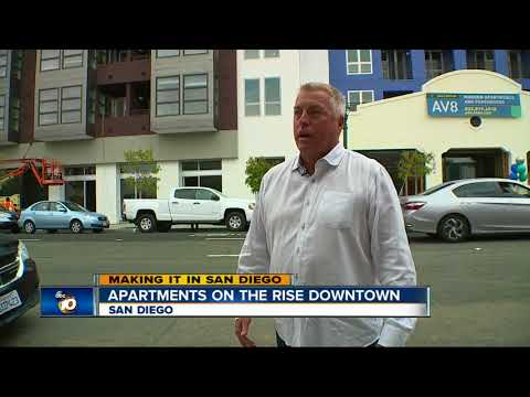 Making it in San Diego: Apartment Boom in Downtown as construction ramps up