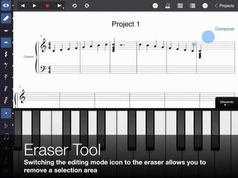 Symphony Pro 3.5 Demo: iPad Music Notation App
