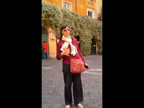 Teaching on Lawrence the Martyr in Rome! Christian Tours Italy