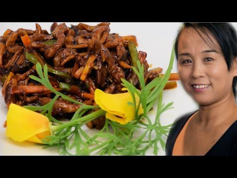 Chinese Shredded Pork Recipe (Chinese Style Cooking Recipe)