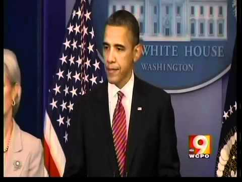 Obama speaking on birth control controversy