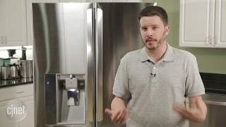 This premium LG fridge lives up to the price tag