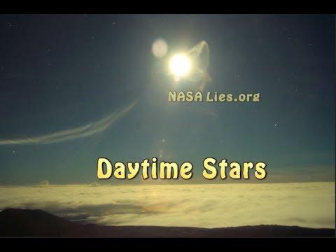 Daytime Stars Around the Sun, shooting stars in the upward direction