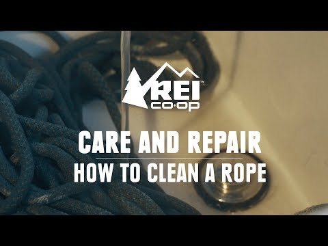 How to Clean a Rope    REI