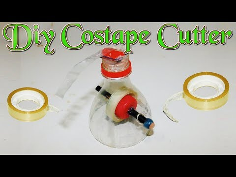 Diy costape cutter made by plastic bottle | Homemade Costape cutter | how to make | Stupid Engineer.