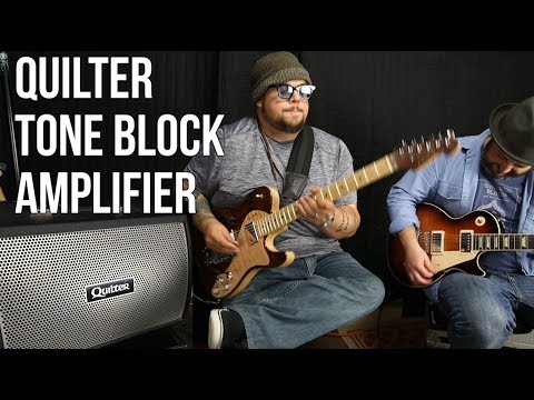 Amazing Solid State Amp - Quilter Tone Block - Guitar Gear