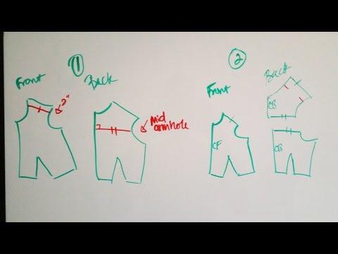 How to Draft a Shirt Yoke