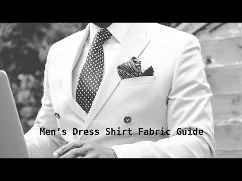 Dress Shirt Fabric Guide