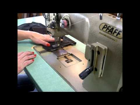 Pfaff 1245 Industrial Sewing Machine Leather, Upholstery, Webbing